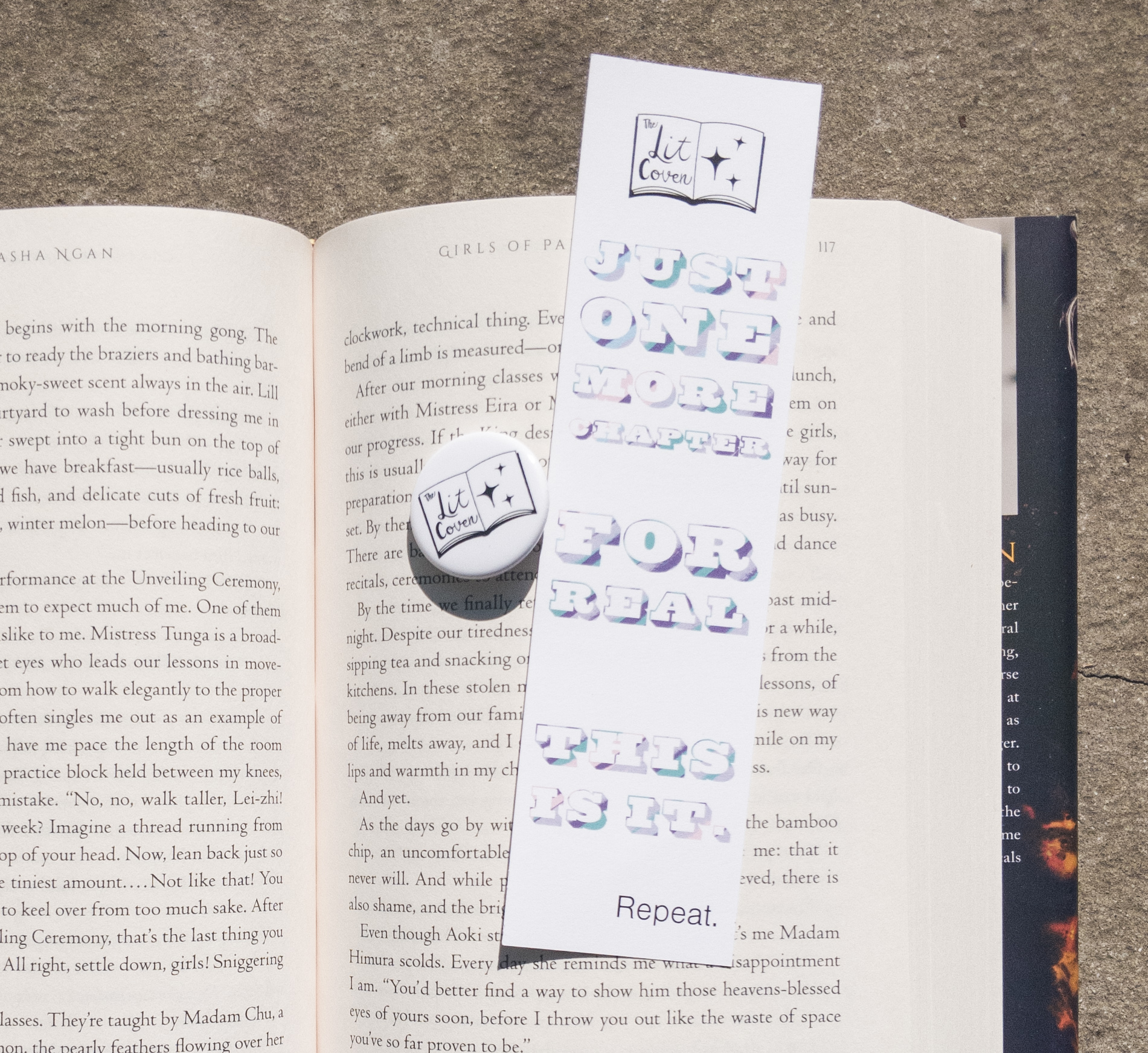 The-Lit-Coven-Pin-and-bookmark