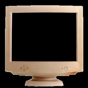 Retro PC Monitor Display